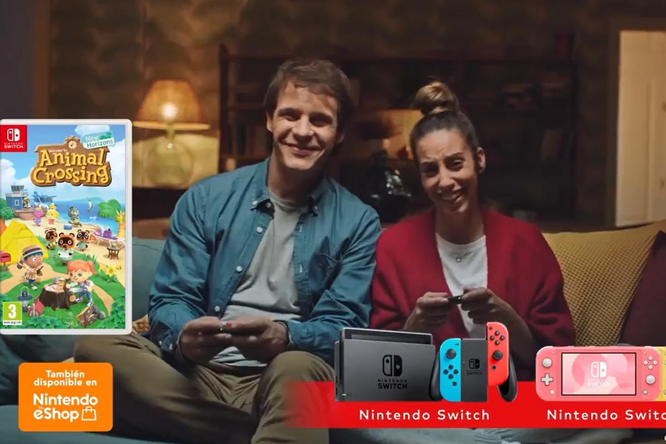 Spot Nintendo con Christian Gálvez y Almudena Cid. (2021)