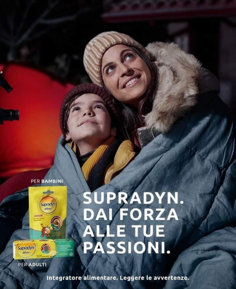 Spot Supradyn para Italia. Modelo Izaskun